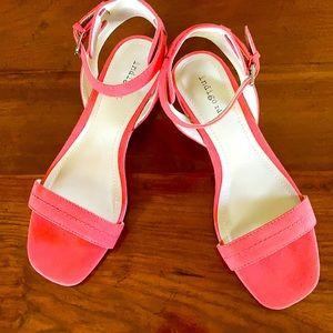indigo rd. coral sandals
